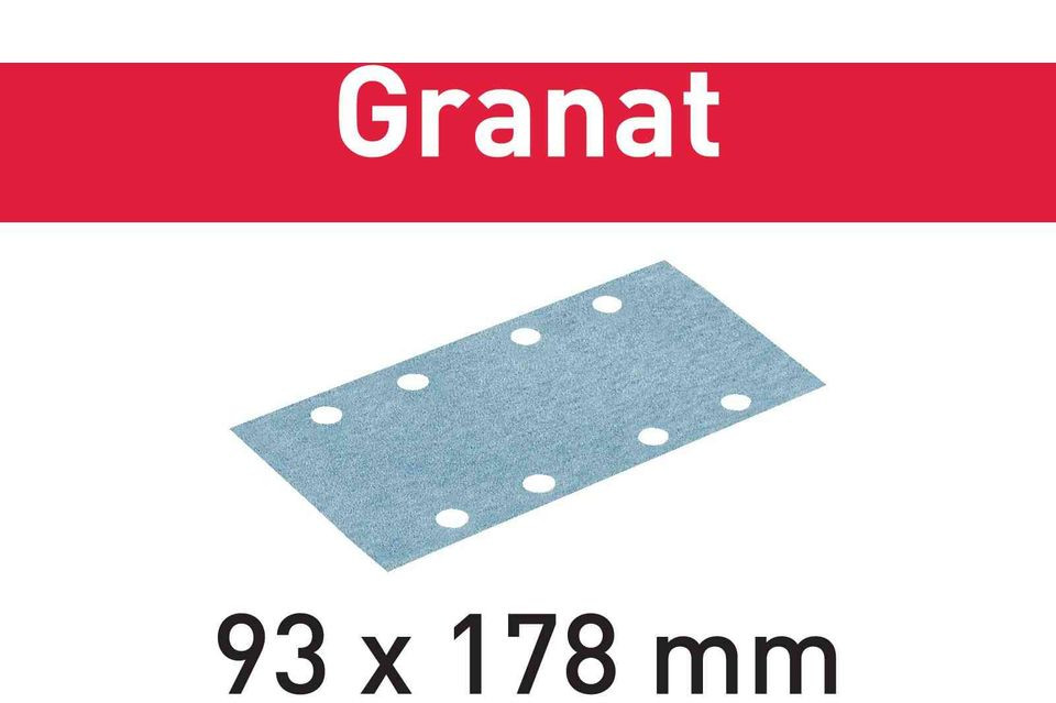 Foaie abraziva STF 93X178 P150 GR/100 Granat imagine Festool albertool.com