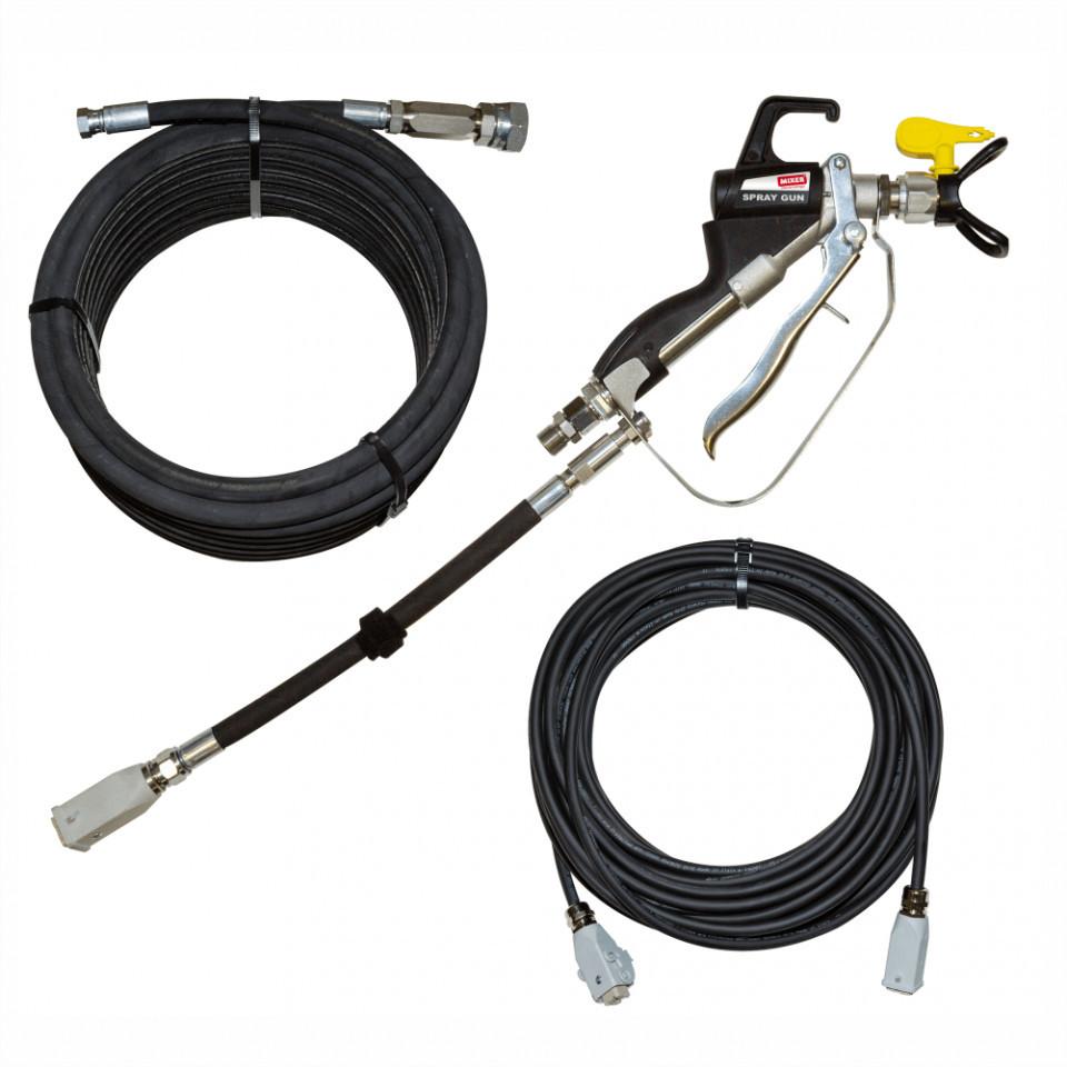 Kit zugraveli pentru Pompa pentru gleturi Bisonte PCS-HP15 Bisonte