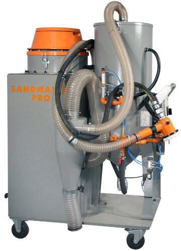 Masina de sablat cu recuperarea abrazivului - CX.ABRA-SandMasterPro ABRA