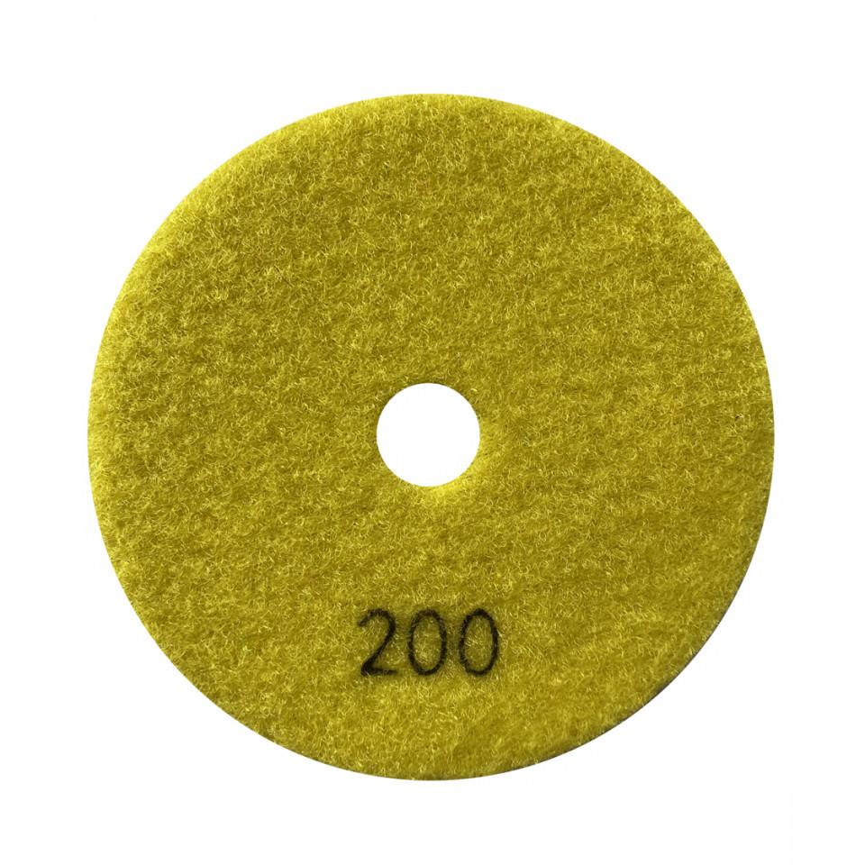 Paduri / dischete diamantate pt. slefuire uscata #200 Ø125mm - DXDY.DRYPAD.125.0200 DiamantatExpert