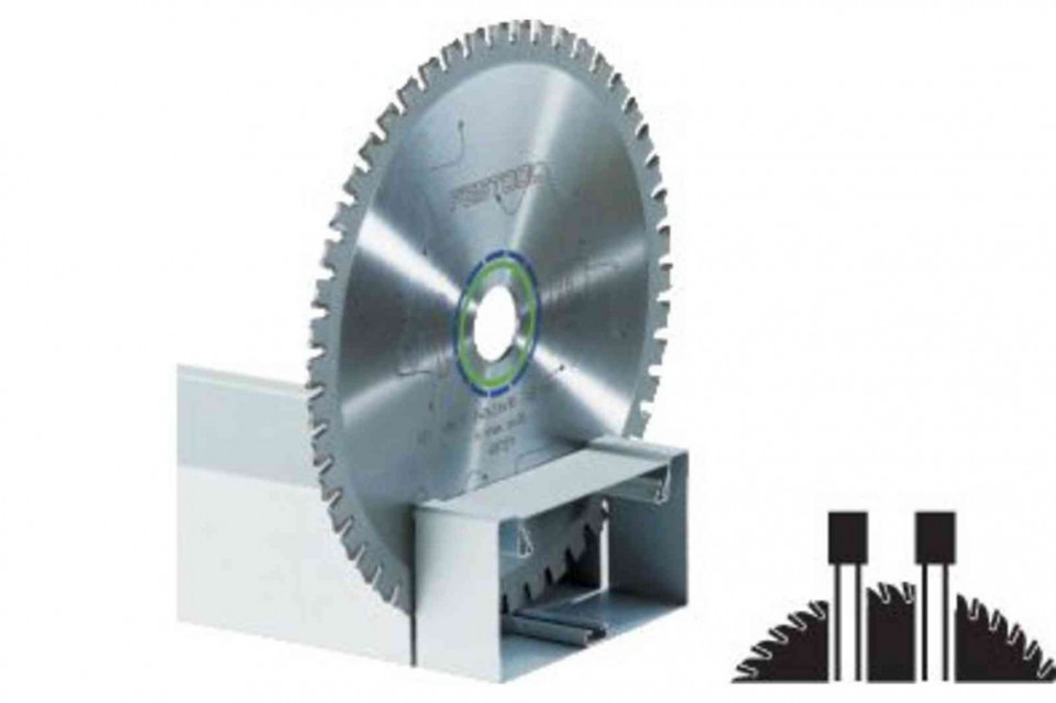 Panza circulara de ferastrau cu dinti plati 210x2,2x30 F36 Festool