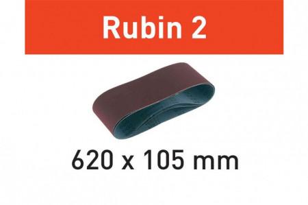 Banda abraziva L620X105-P120 RU2/10 Rubin 2