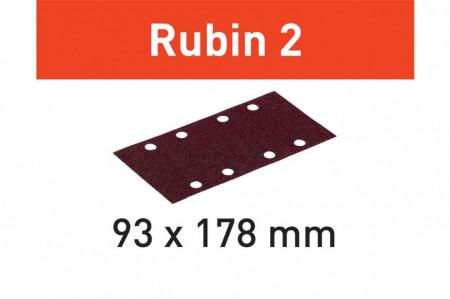 Foaie abraziva STF 93X178/8 P120 RU2/50 Rubin 2