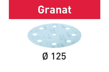 Foaie abraziva STF D125/8 P1000 GR/50 Granat