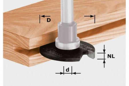 Freza-disc pentru canale HW D40x1,5