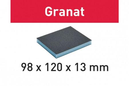 Burete de şlefuit 98x120x13 220 GR/6 Granat