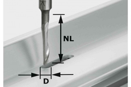 Freză pentru aluminiu HS S8 D5/NL23