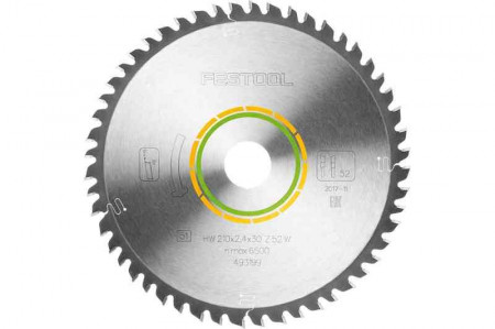 Panza de ferastrau circular cu dinti fini 210x2,4x30 W52