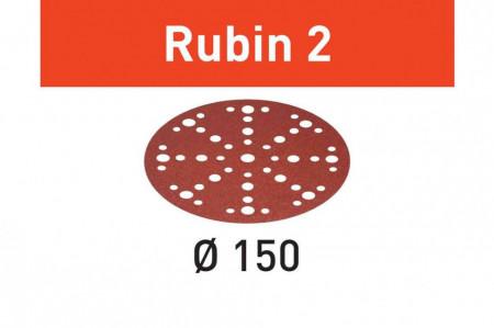 Foaie abraziva STF D150/48 P120 RU2/10 Rubin 2