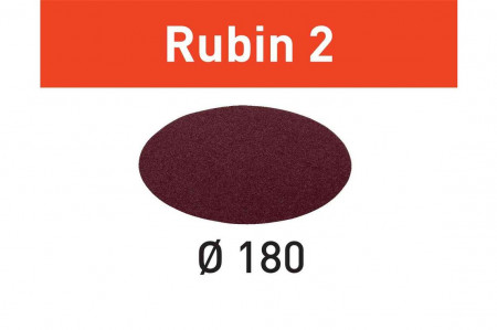 Foaie abraziva STF D180/0 P150 RU2/50 Rubin 2