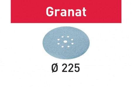 Foaie abraziva STF D225/8 P80 GR/25 Granat