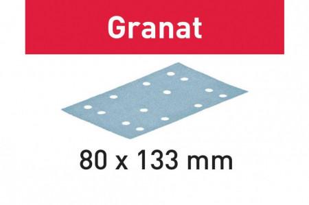 Foaie abraziva STF 80x133 P80 GR/10 Granat