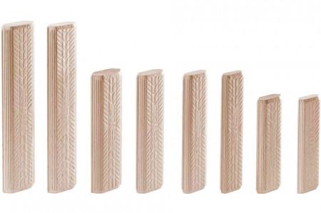 Cepuri din lemn de fag DOMINO D 10x80/150 BU