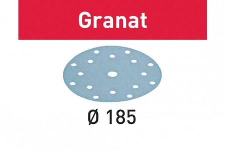 Foaie abraziva STF D185/16 P40 GR/50 Granat
