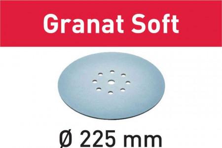 Foaie abraziva STF D225 P80 GR S/25 Granat Soft