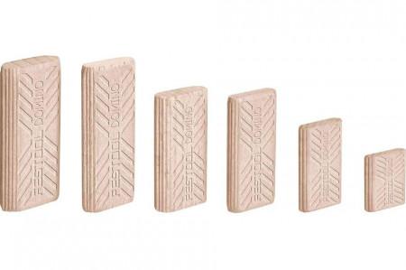 Cepuri din lemn de fag DOMINO D 8x50/600 BU