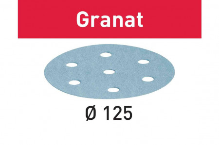 Foaie abraziva STF D125/8 P150 GR/100 Granat