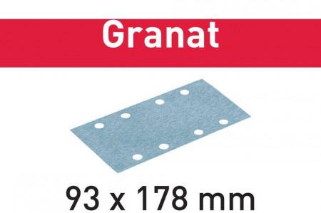 Foaie abraziva STF 93X178 P60 GR/50 Granat