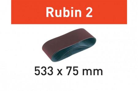 Banda abraziva L533X 75-P80 RU2/10 Rubin 2