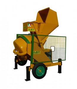 Betoniera automata 360 lt, 1.5kW - LS-Skipper-S360
