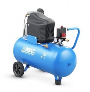 Compresor de aer Debit 222 l/min, Rezervor 50l Abac Monte Carlo L20
