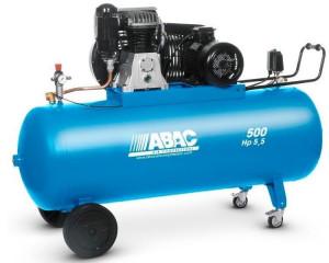 Compresor de aer Debit 653 l/min, Rezervor 500l Abac PRO B5900B 500 CT5,5