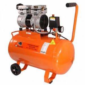 Compresor de aer fara ulei Bisonte SC012-050, debit aer 168 l/min. butelie 50 l