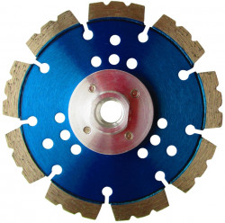 Disc DiamantatExpert pt. Beton armat & Piatra - Speed Wave 125xM14 (mm) Super Premium - DXDH.2050.125-Flansch