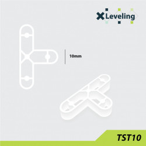 Distantieri tip T ( Teuri ) pt. placi - gresie si faianta - Rost 10 mm - 250 buc - XLEV-TST10-250
