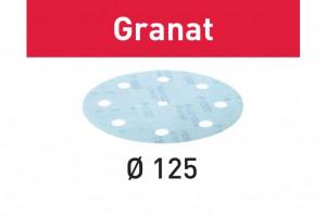 Foaie abraziva STF D125/8 P800 GR/50 Granat