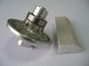 Freza Diamantata Semi-Baston Raza 10mm pt. Marmura, Granit si Gresie - DXDY.FGM.D75R10H20