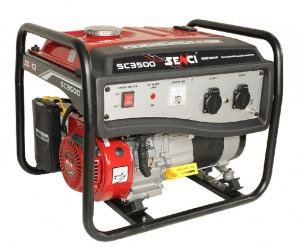 Generator curent monofazat Senci SC-3500E LITE, Putere max. 3.1 kW