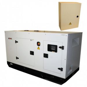 Generator de curent Insonorizat Senci SCDE 55YS-ATS, Putere max. 44 kW, 400V, AVR, ATS