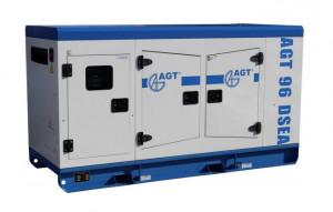 Generator diesel de curent, insonorizat AGT 96 DSEA