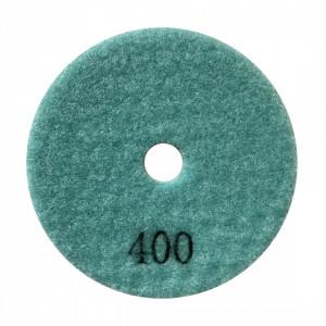 Paduri / dischete diamantate pt. slefuire uscata #400 Ø100mm - DXDY.DRYPAD.100.0400