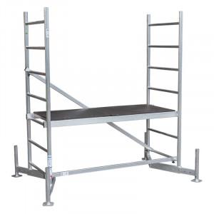 Schela din aluminiu Climtec 0,6 x 1.5m, aluminiu, inaltime lucru 3m, modul 0 (baza)
