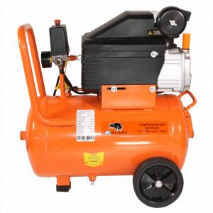 Compresor de aer cu ulei Bisonte SF020-025, debit aer 187 l/min. butelie 25 l