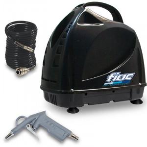 Compresor fara ulei, silentios, cu accesorii tip Fiac F3100+kit