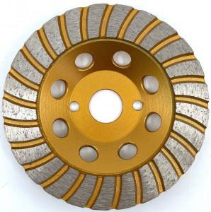 Cupa diamantata segment TURBO - Granit/Piatra 100x22.2mm Premium - DXDY.PTGC.100