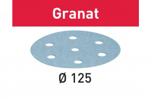 Foaie abraziva STF D125/8 P180 GR/100 Granat