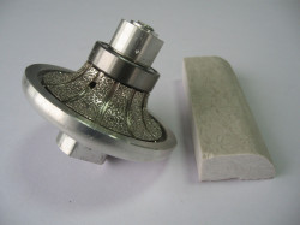 Freza Diamantata Semi-Baston Raza 15mm pt. Marmura, Granit si Gresie - DXDY.FGM.D75R15H20