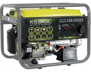 Generator de curent 5.5 kW benzina BASIC LINE - Konner & Sohnen - KSB-6500C