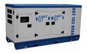 Generator diesel de curent, insonorizat AGT 132 DSEA