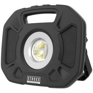 Lampa de lucru led 30 de wati, cu acumulator si boxa bluetooth - Stroxx - Stroxx-9066445
