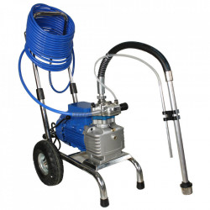 Pompa de zugravit airless Bisonte cu membrana PAZ-6860e debit 4.0 l/min. motor 1800W