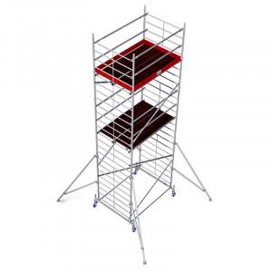 Schela aluminiu Protec XXL 1,2 x 2m, aluminiu, inaltime lucru 7,3m
