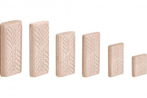Cepuri din lemn de fag DOMINO D 10x50/510 BU