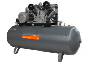 Compresor cu piston - Profesional 7,5kW , 1400 L/min - Rezervor 500 Litri - WLT-PROG-1400-7.5/500