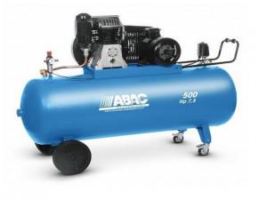 Compresor de aer Debit 827 l/min, Rezervor 500l Abac PRO B6000 500 CT7,5