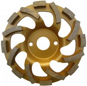 """Cupa diamantata """"ventilator"""" - Beton & Abrazive 125mm Premium - DXDH.4412.125"""